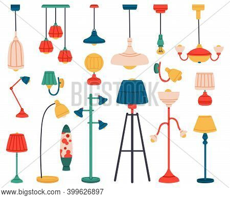 Home Light. Interior Lamps, Ceiling Lamps, Pendant, Reading Lamp, Spotlight And Floor Lamp. Indoor L