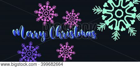 Merry Christmas Greeting Card Background