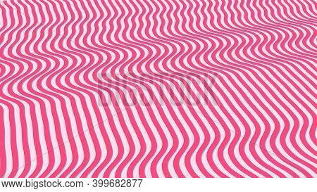 Abstract Futuristic Geometric Wavy Patterns , Colorful Chocolate And Sugar Candy Patterns, Sweet Can