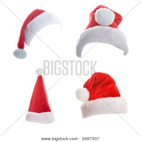 Multiple Christmas Hats