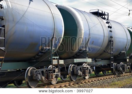 The Train Transports Tanks