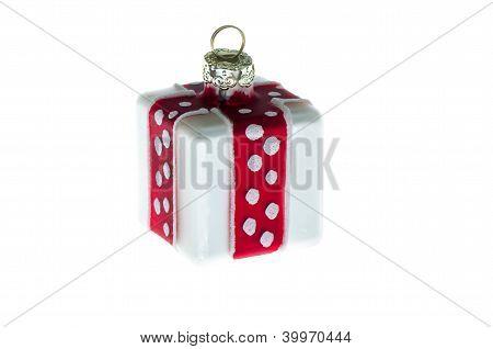 White Christmas Tree Toy.