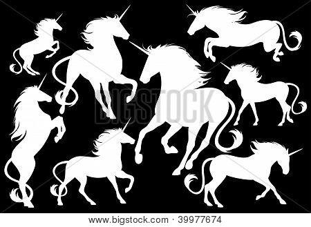 set of unicorns