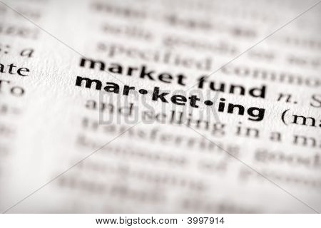 Dictionary Series - Marketing
