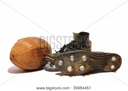 Football and Cleats