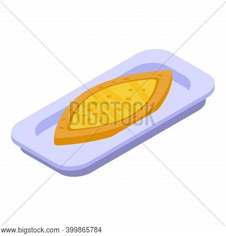 Turkish Pide Icon. Isometric Of Turkish Pide Vector Icon For Web Design Isolated On White Background