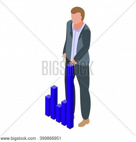 Shareholder Investor Icon. Isometric Of Shareholder Investor Vector Icon For Web Design Isolated On