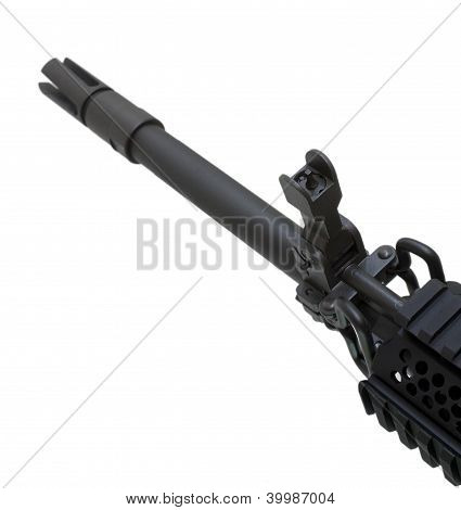 Front Sight And Barrel