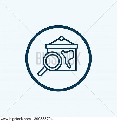 Geography Icon Isolated On White Background From Mother Earth Day Collection. Geography Icon Trendy