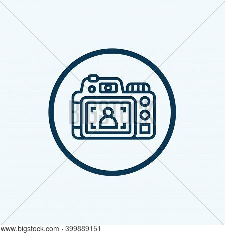 Photography Icon Isolated On White Background From Design Tools Collection. Photography Icon Trendy