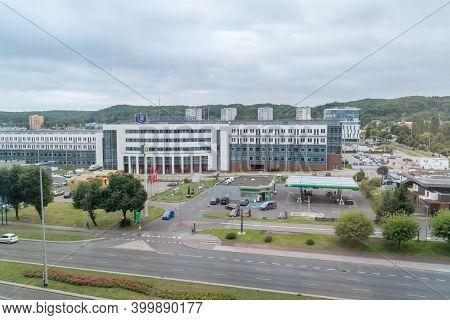 Gdansk, Poland - July 31, 2020: University Of Gdansk.