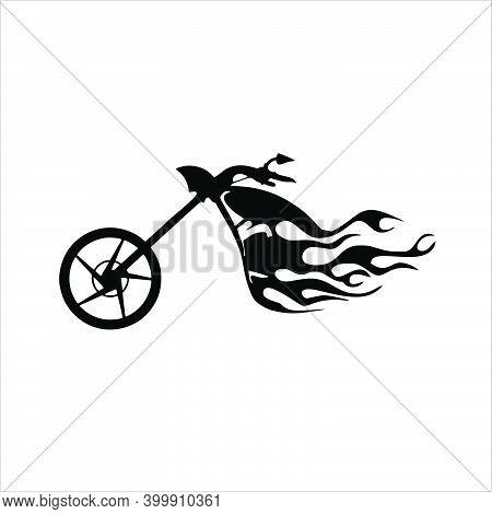 Motorcycle Icon Isolated On White Background. Trendy Motorbike Icons And Modern Motorbike Symbols Fo
