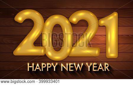 New Year 2021. Happy New Year 2021. Happy New Year 2021 Vector Background Illustration Template. 202