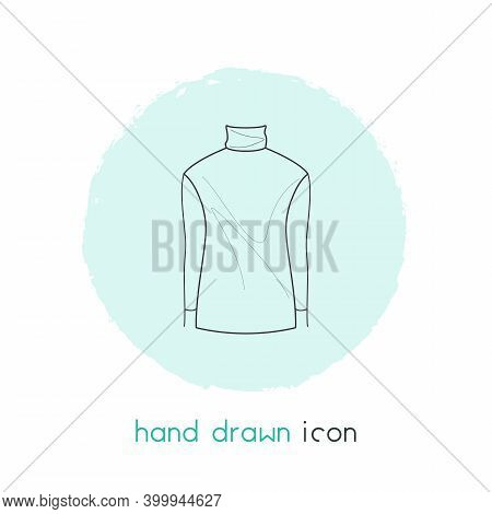 High Bias Roll Icon Line Element. Vector Illustration Of High Bias Roll Icon Line Isolated On Clean