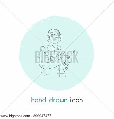 Profession Icon Line Element. Vector Illustration Of Profession Icon Line Isolated On Clean Backgrou