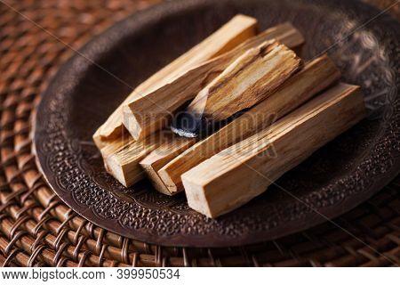 sticks of the sacred Palo Santo tree - healthy lifestyle