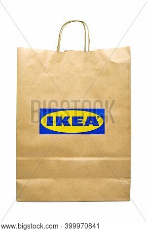 Paper Bags Used In Home Improvement Stores In Turkey Ikea, Ikea Recyclable Paper Bag, Natural Produc