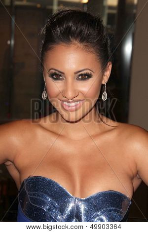 LOS ANGELES - AUG 16:  Francia Raisa at the 28th Annual Imagen Awards at the Beverly Hilton Hotel on August 16, 2013 in Beverly Hills, CA