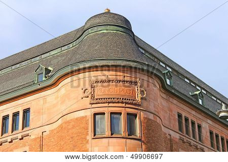 Old Post Office In Vasa Street In Stockholm, Designed By Ferdinand Boberg, Stockholm, Sweden