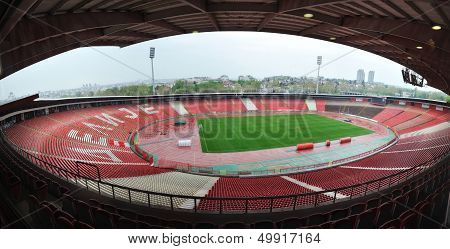 Stadium of Red Star Belgrade football club