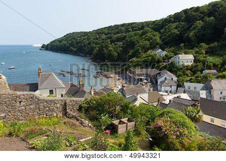 Cawsand Cornwall England United Kingdom on the Rame Peninsula