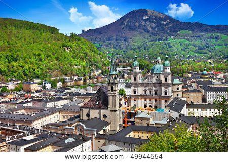beautiful Salzburg, Austria