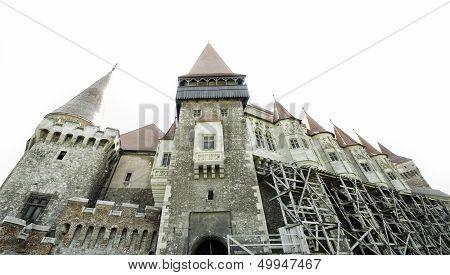 castle in Transylvania