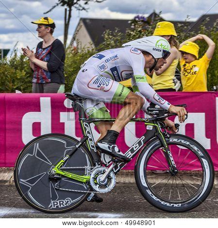 The Dutch Cyclist Albert Timmer