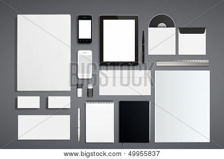 Blank Corporate Id Set