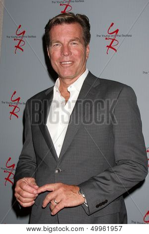 LOS ANGELES - AUG 24:  Peter Bergman at the Young & Restless Fan Club Dinner at the Universal Sheraton Hotel on August 24, 2013 in Los Angeles, CA