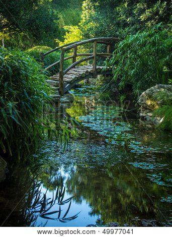 Wooden Bridge at Zelker Park