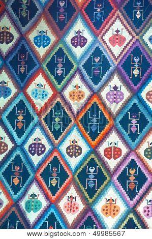 Colorful Peruvian Textile