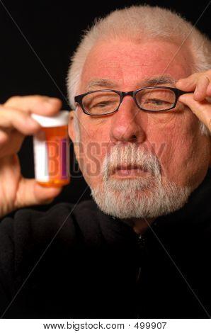 Reading Fuzzy Pill Bottle