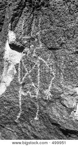 Petroglyph Tall Man