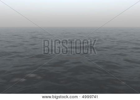 Foggy Ocean Scenic