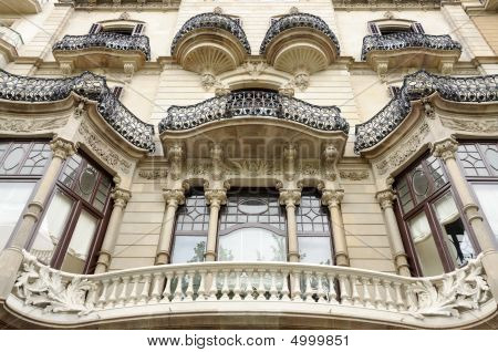 Architecture In Barcelona, Spain