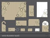 Stationery design template.  Easy to edit, layered vector eps10 poster