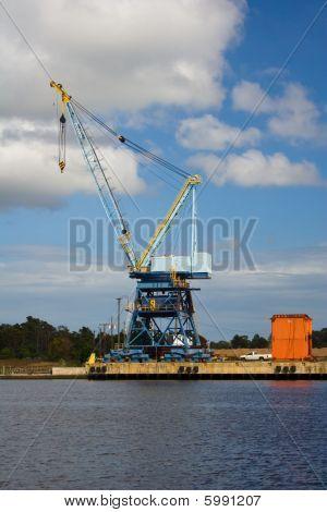unloading crane