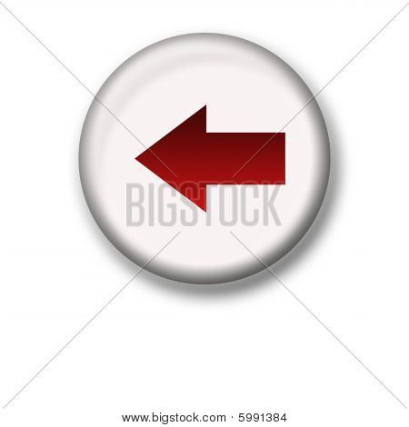 Illustration Of An Arrow Icon - Backward