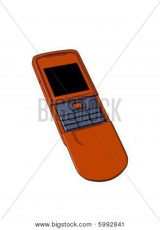 Terracot mobile phone