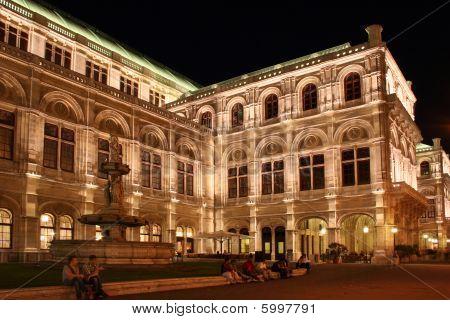 Wiener Staatsoper (vienna State Opera House), In Vienna, Austria