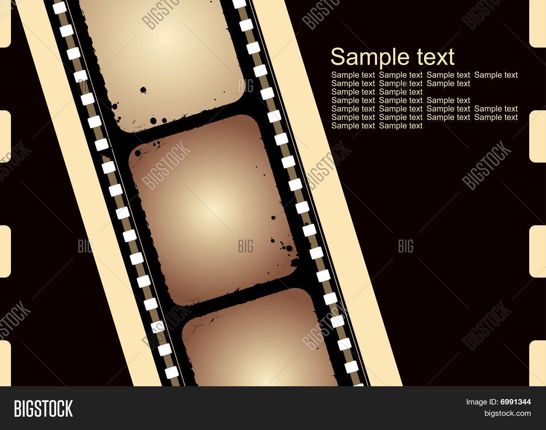 Grunge Camera Vector : Grunge film frame vector photo free trial bigstock