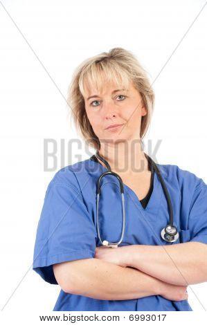 junge Arzt mit Stethoskop