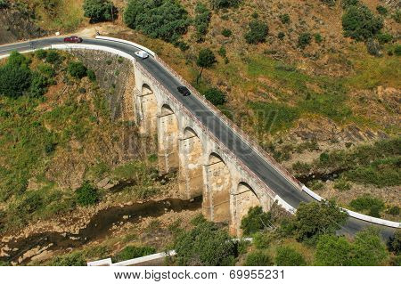 Old bridge in Mertola