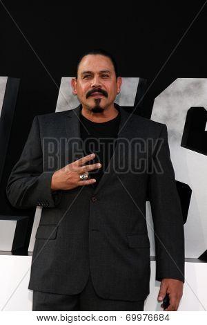 LOS ANGELES - AUG 11:  Emilio Rivera at the