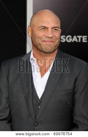 LOS ANGELES - AUG 11:  Randy Couture at the