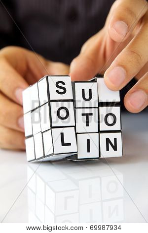 business solution concept