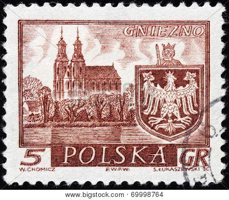 Gniezno Stamp