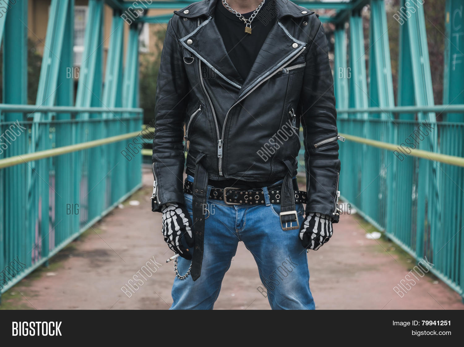 a8cee1d8143 Punk guy posing city image photo free trial bigstock jpg 1500x1120 Punk guy