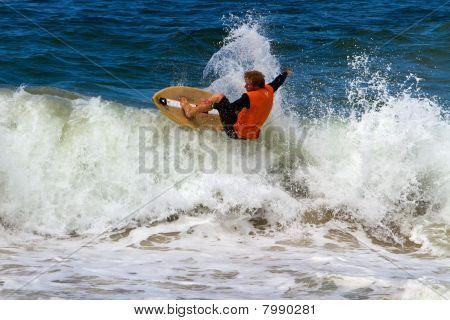 Skimboarding Competitor